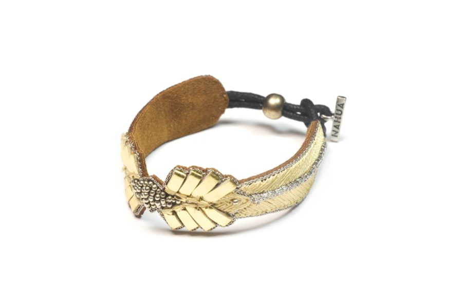 Bracelet rock Colombe | Gold | Photo 2
