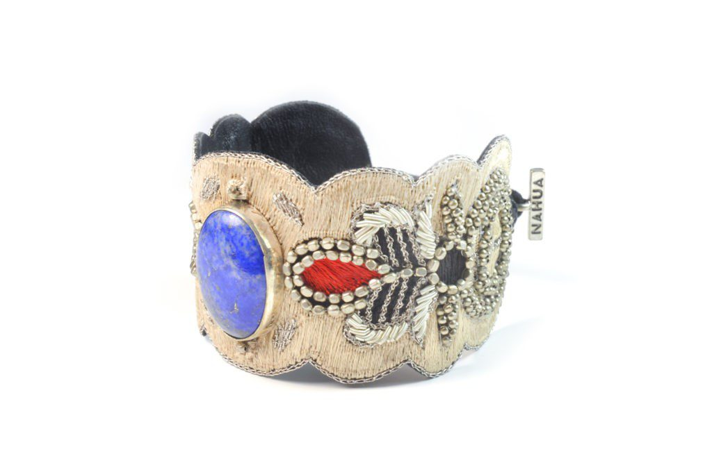 Opera bracelet - Blue/Mastic