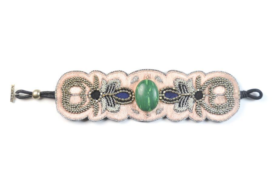Bracelet Opera - Green/Skin   Photo 1