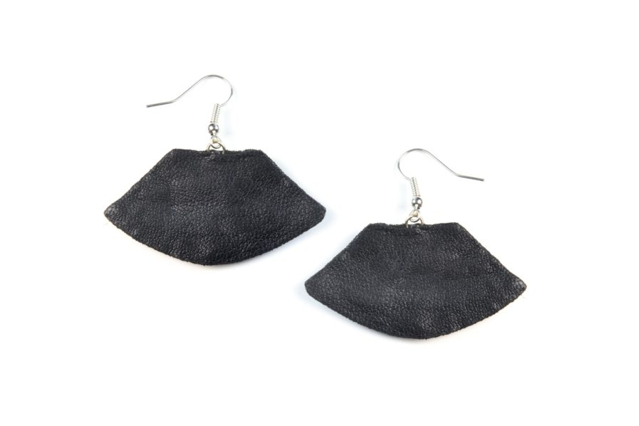 Boucles d'oreilles Patsy - Black | Photo 2