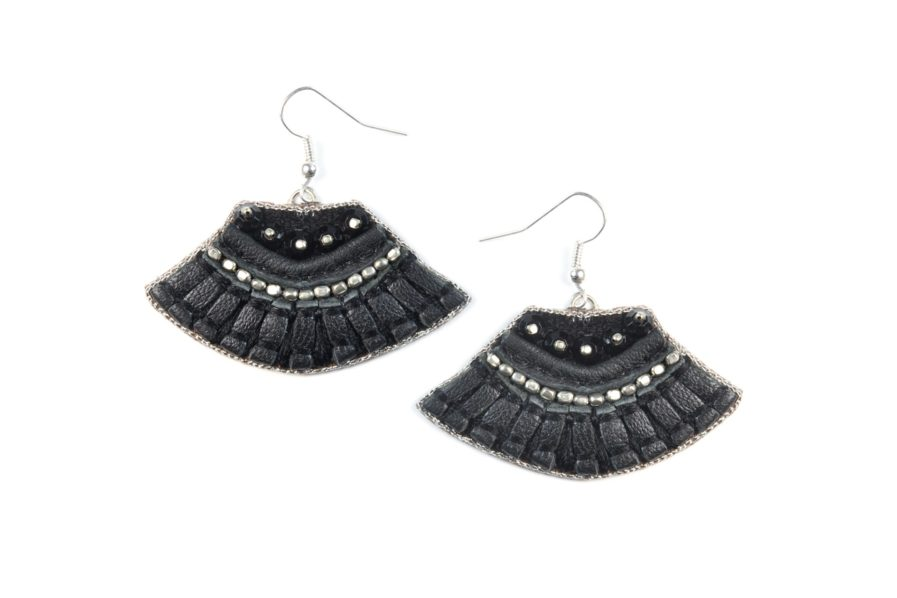 Boucles d'oreilles Patsy - Black | Photo 1
