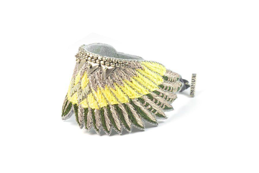 bracelet boho Shakti – Green/Yellow | Photo 2