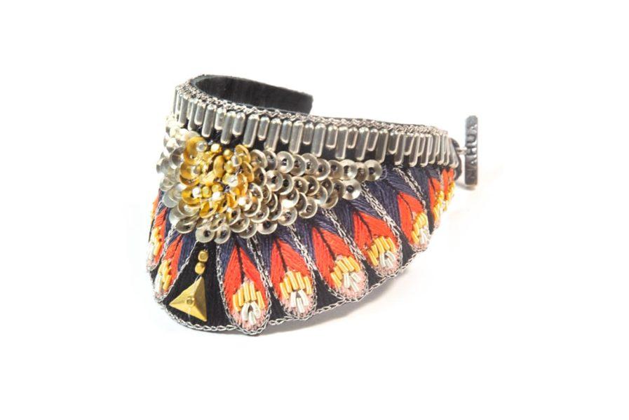Bracelet ethnique Nita - Coral   Photo 2