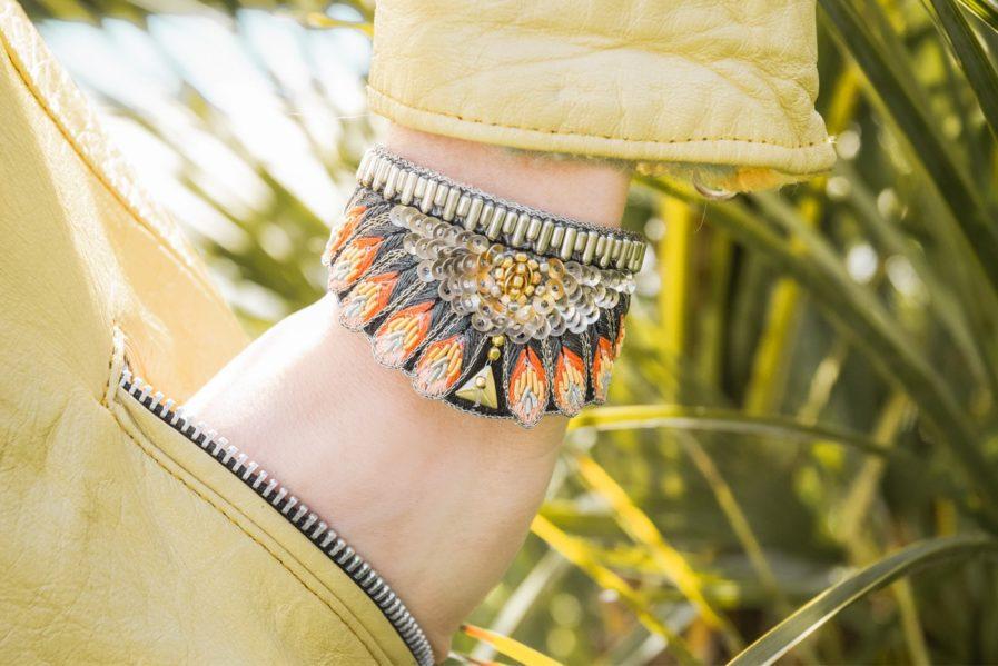 Bracelet ethnique Nita - Coral   Photo 1