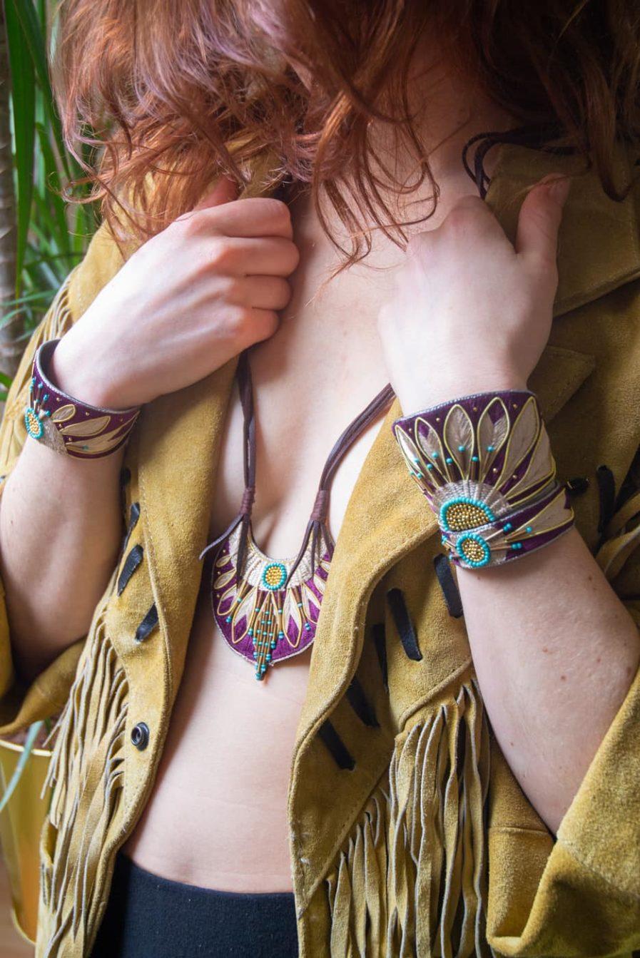 Bracelet Apache - Purple/Mastic   Photo 1