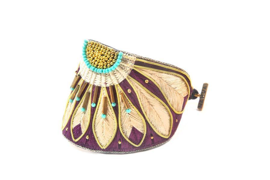Bracelet Apache - Purple/Mastic   Photo 2