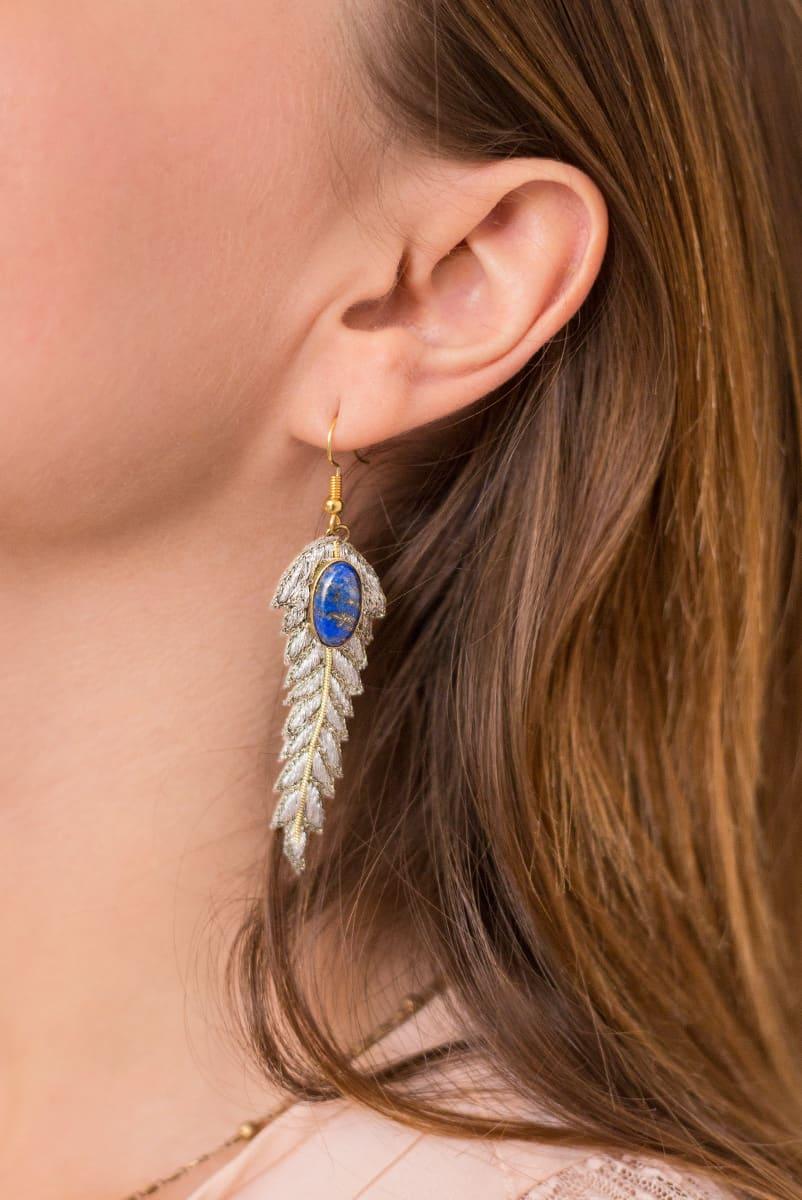 Boucles d'oreilles chic Lorie   Silver   Photo 1