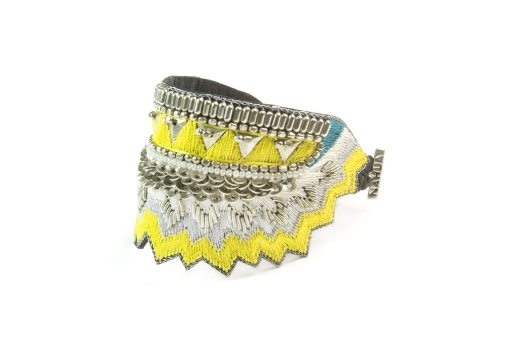 Bracelet ethnique Maheswari | Sunny/Yellow