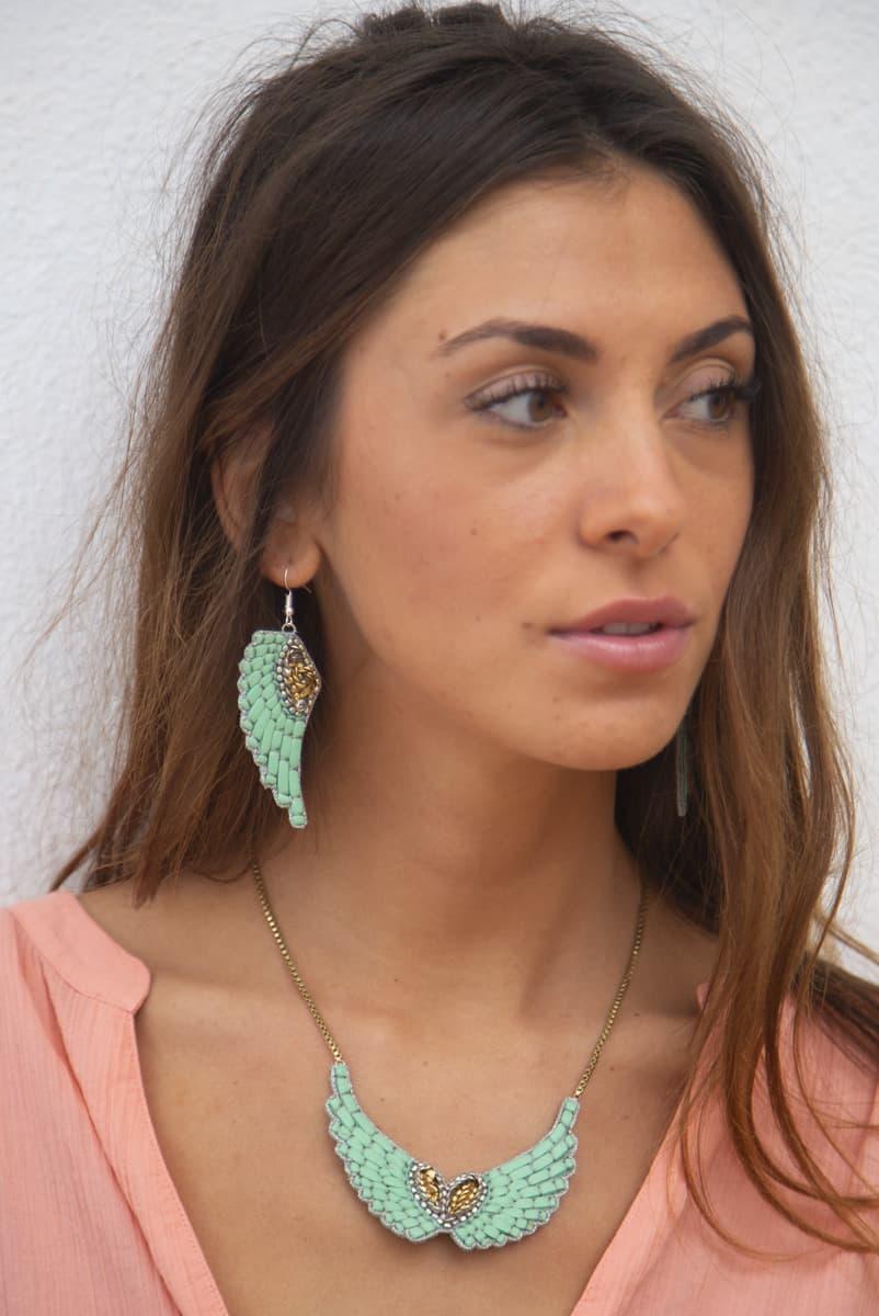 Boucles d'oreilles Anita Turquoise NAHUA
