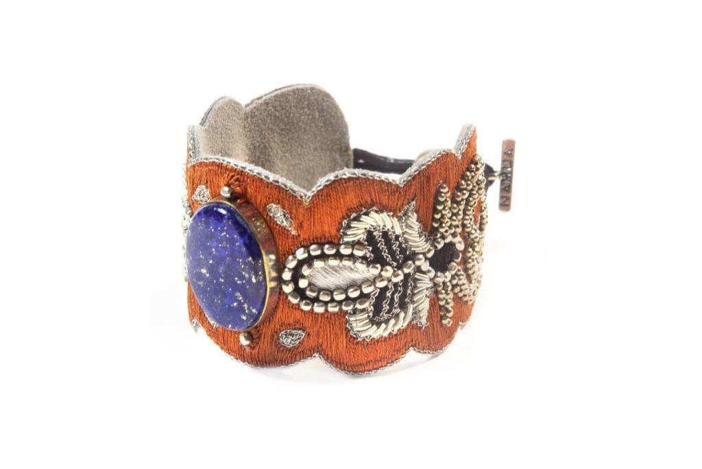 Bracelet chic Opera | Blue/Copper