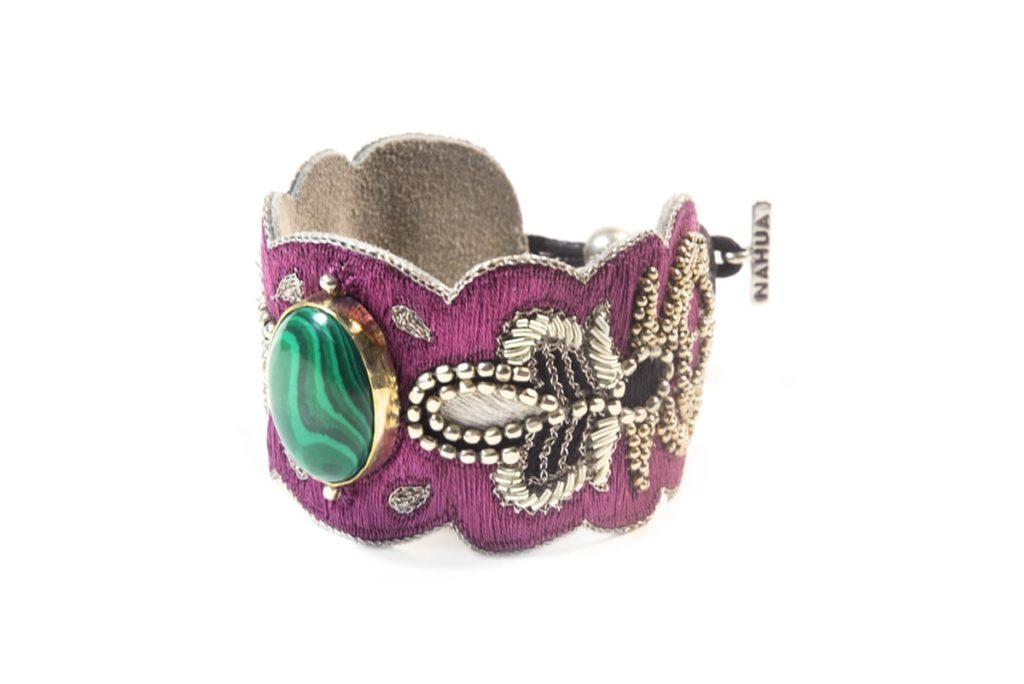 Bracelet rock Opera | Green/Purple
