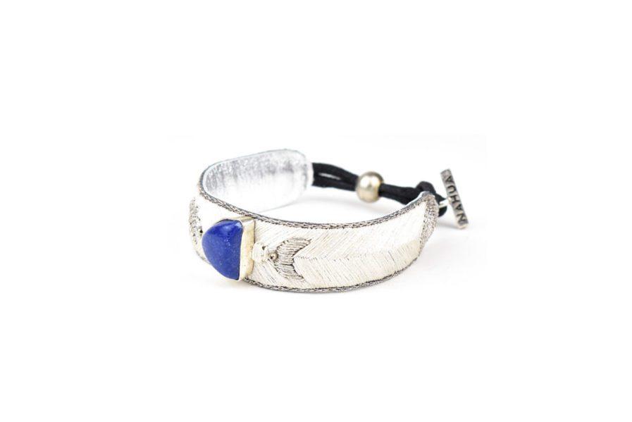 Bracelet bohème Kanis | Light/Lapis