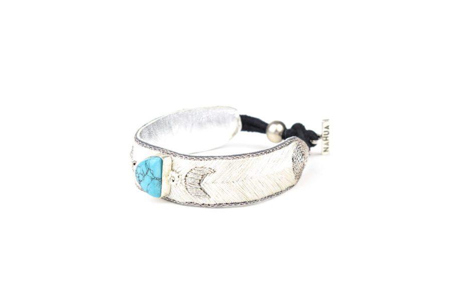 Bracelet bohème Kanis | Light/Turquoise