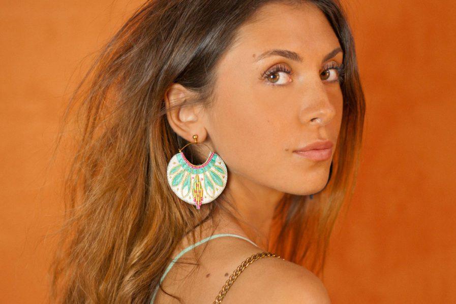 Boucles d'oreilles ethniques Apie | Amazonia