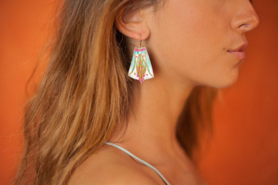 Boucles d'oreilles ethniques Apo | Amazonia
