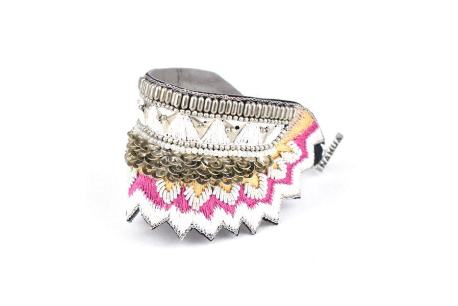 Bracelet ethnique Maheswari | Lilac