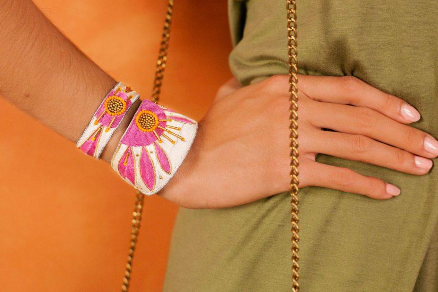Bracelet ethnique Aprile | Lilac