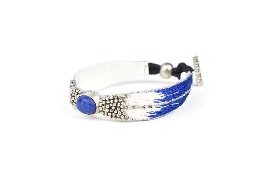 Bracelet ethnique Branis | Greek blue