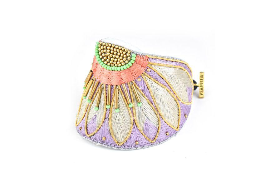 Bracelet ethnique Apache | Mauve