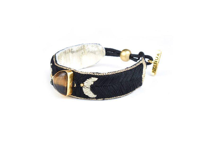 Bracelet bohème Kanis | Tiger eye
