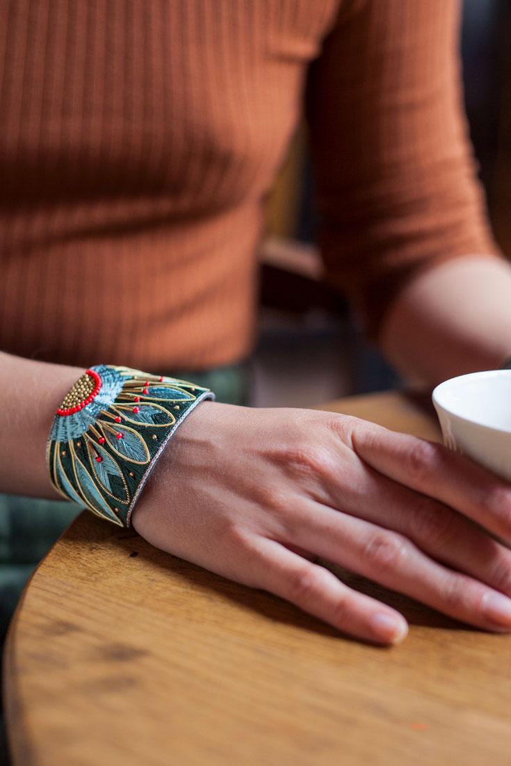 Bracelet ethnique Apache | Forest