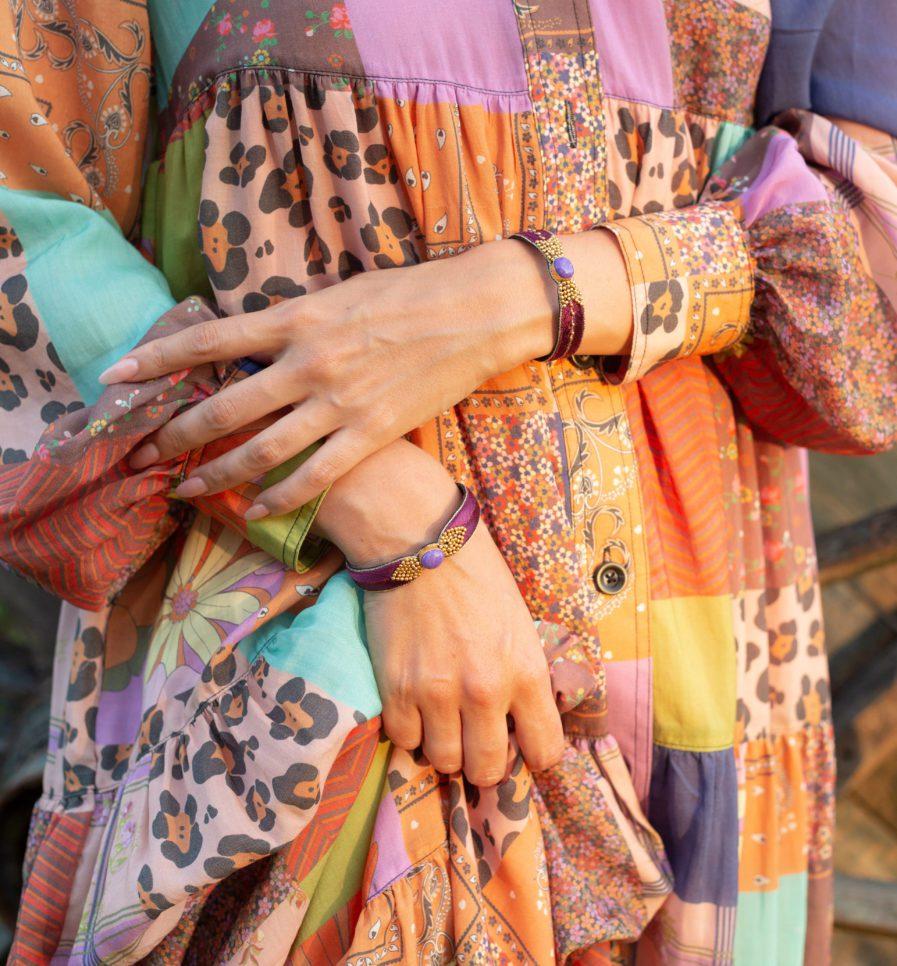 Bangle ethnique Braha | Hibiscus