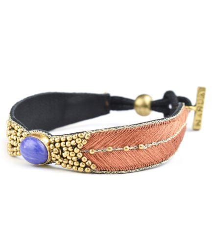 Bracelet ethnique Branis   Fawn
