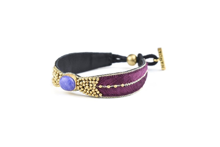 Bracelet ethnique Branis   Hibiscus