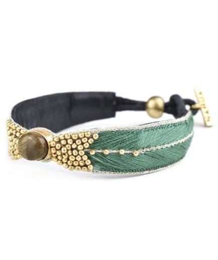 Bracelet ethnique Branis   Jungle