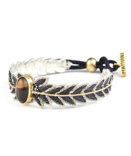 Bracelet chic Loriane | Carbone