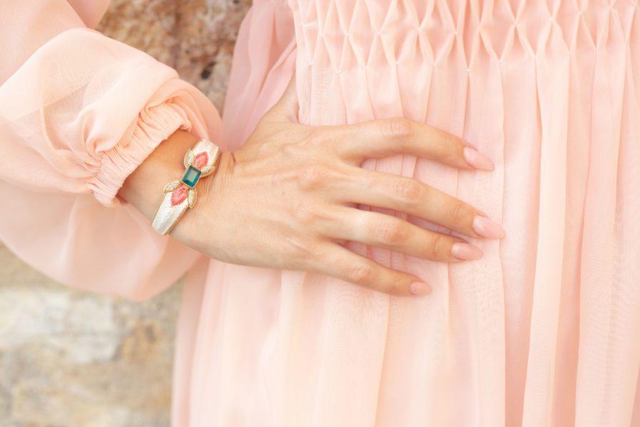 Bracelet chic Precious | Peach