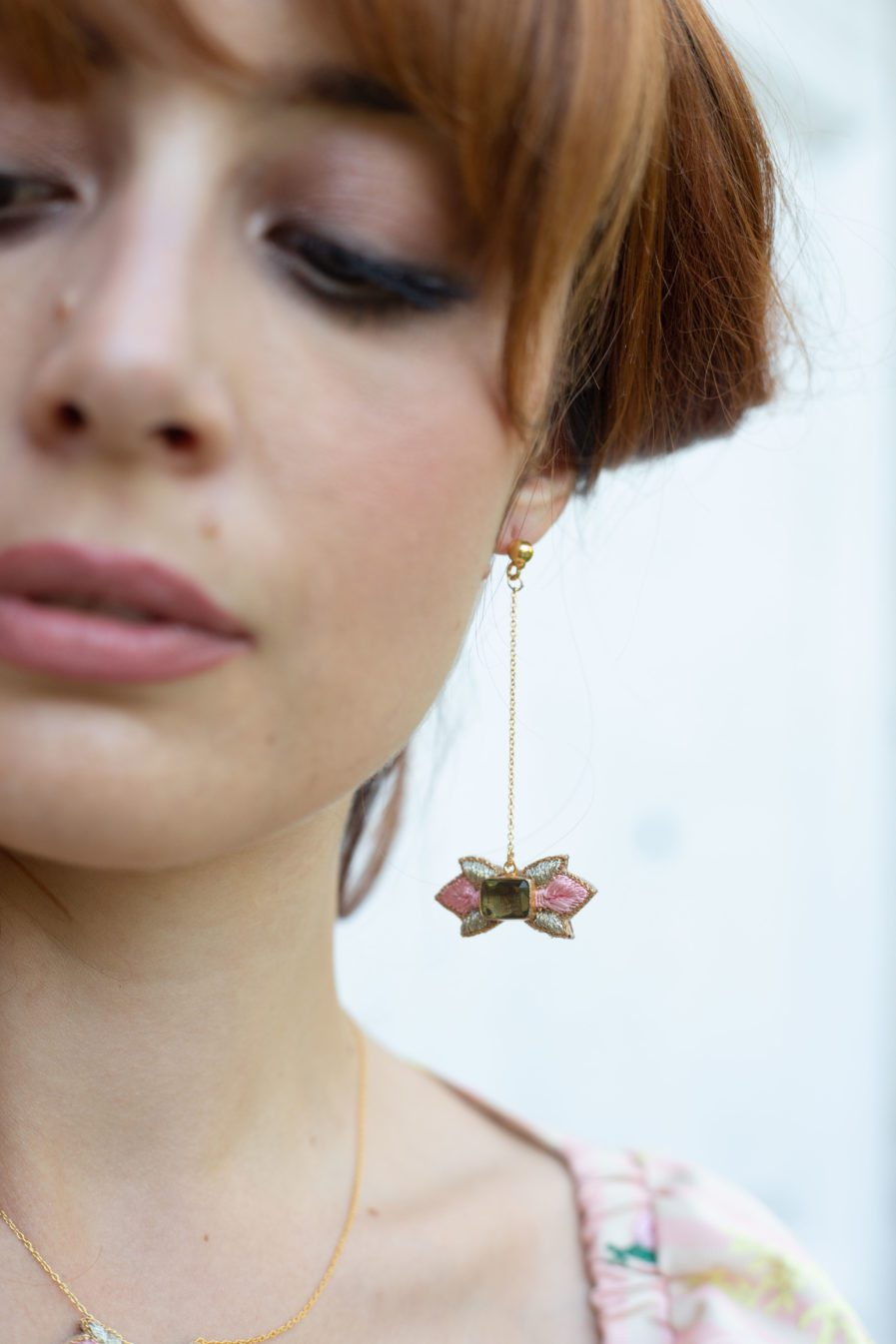 Boucles d'oreilles chic Prema | Pink